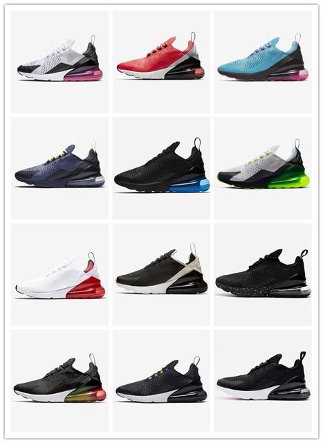 AIRTN  Sneakers Triple black men women running shoes high regency purple core white blue empty platinum tint men sneakers