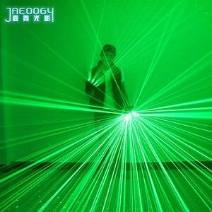 2 в 1 новые высококачественные зеленые лазерные перчатки для ночного клуба, бара, вечеринки, танцев, певицы, реквизит для танцев, DJ, механичес...