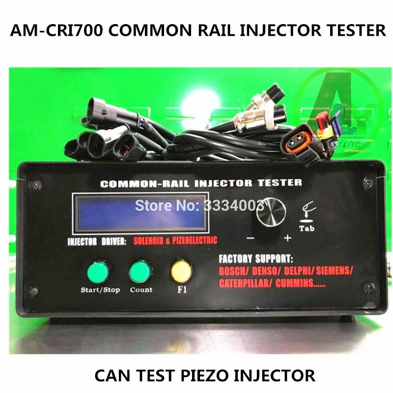 FÜR BOSCH DENSO DELPHI SIMENS PIEZO common rail injektor tester reparatur werkzeug AM-CRi700