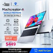 [Welt Premie] Machcreator-EINE Laptop Metall Ultrabook intel core i3 10110U 8G 256G ssd 15.6 ''fhd IPS Student Tragbare Büro