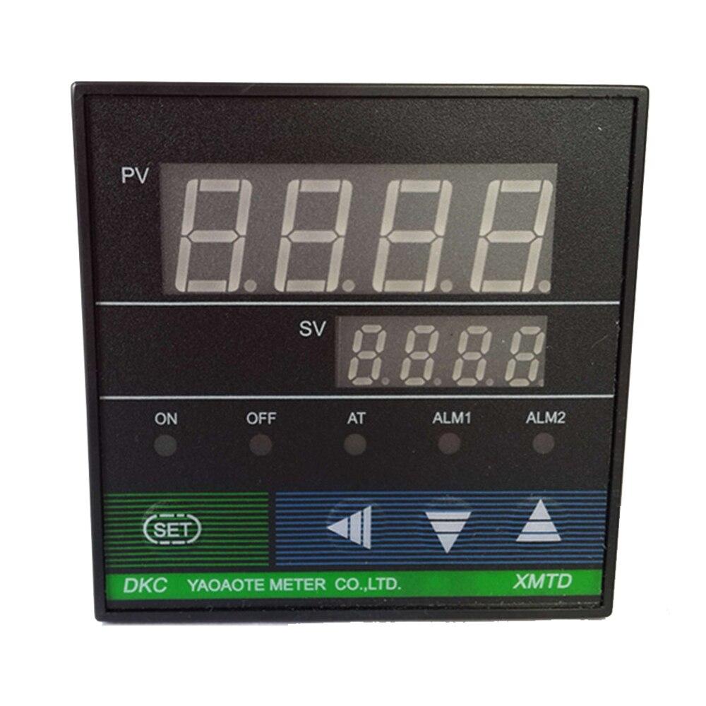 DKC-E XMTD-6000 0-400 K tipo PT100 pantalla digital inteligente controlador de temperatura