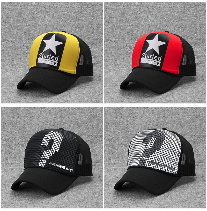 Wholesale Hip Hop Caps 10 Pieces/lot Letter Print Hot Sale Baseball Caps For Men Women