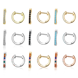 Gold Huggies Earrings