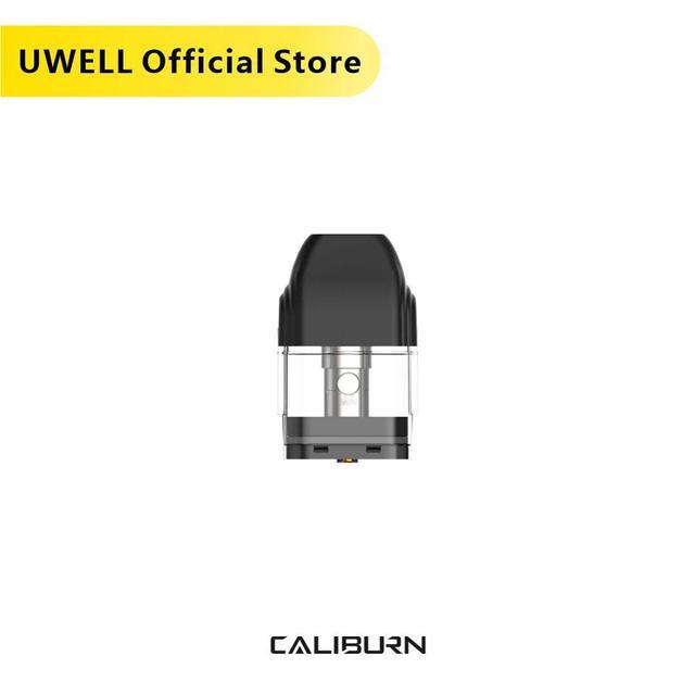 UWELL Caliburn Pod מחסנית 5 חבילות 20 Pcs בסך הכל 2ml קיבולת Vape Pod עבור Caliburn ערכת סיגריה אלקטרונית מאדה
