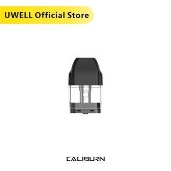 UWELL Caliburn Pod Cartridge 5 Packs 20 Pcs in total 2ml Capacity Vape Pod for Caliburn Kit Electronic Cigarette Vaporizer 20pcs vapesoon caliburn cartridge 2ml 1 4ohm for caliburn pod kit vape pod