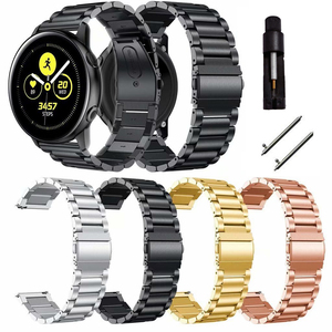 20 22mm For Samsung Gear S3 s2 sport Classic huami amazfit gtr bip strap huawei gt 2 46mm galaxy watch 3 41mm 45mm active Band(China)