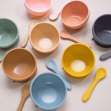 Набор посуды для кормления ребенка 45 ° герметичная миска с