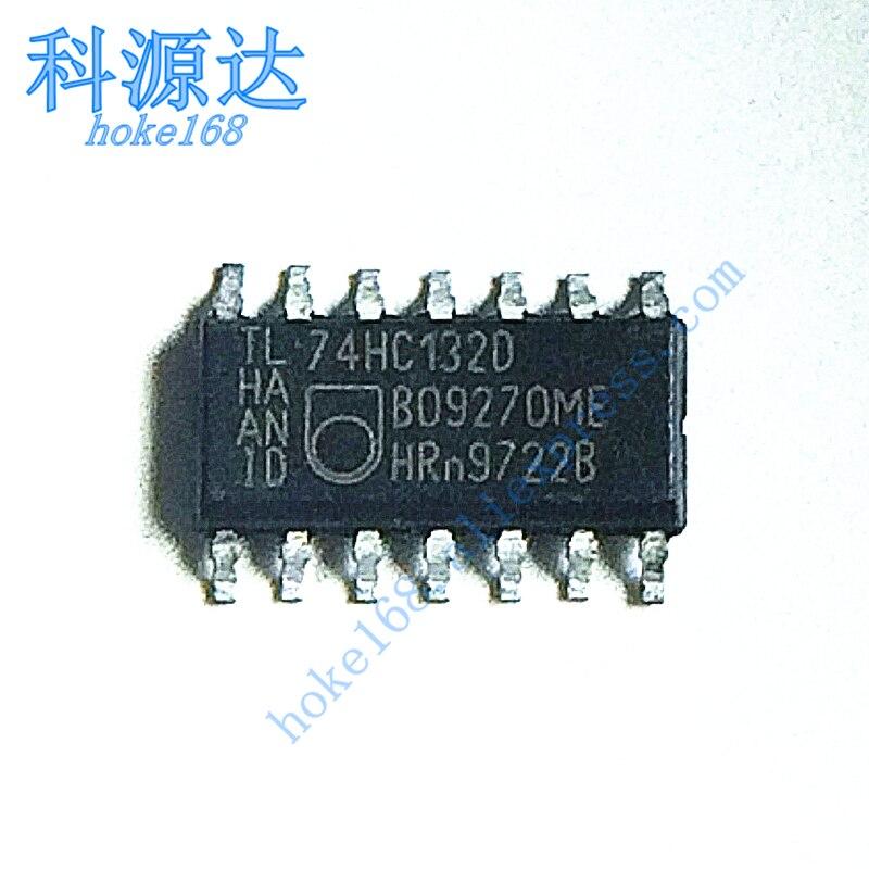 10pcs/lot  74HC132D SOP14 SN74HC132DR In Stock