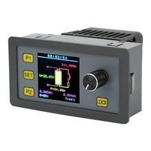 Módulo de carga eletrônica, tela colorida multifuncional, corrente constante ajustável, sol3005 30w 5a 6v-30v
