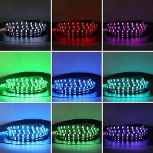Image 5 - USB RGB 5 V LED רצועת אור מחשב RGB Bluetooth 5050 0.5M 1M 5 V USB LED רצועת אור RGB PC טלוויזיה תאורה אחורית Bluetooth בקר