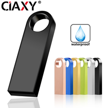 Flash-Drive Usb-Stick Cle Memoria Waterproof 16GB 8GB Black 64GB 128GB 32GB Key-Gift