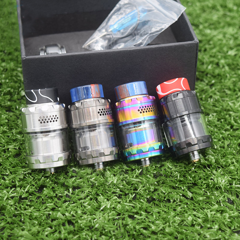 New Arrive Vape RTA Kylin V2 Tank 24mm 3ml/5ml Top Filling Vaper E Cigarette Single Dual Rebuildable Atomizer Tank For Mech Mod