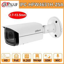 Dahua 6mp poe ir bullet 카메라 IPC HFW4631H ZSA 2.7 13.5mm 5x 줌 cctv 카메라 내장 mic ir60m IPC HFW4431R Z 교체