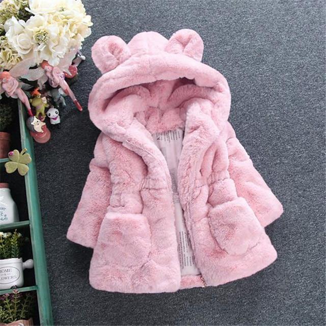 Hooded Fur Jacket 2