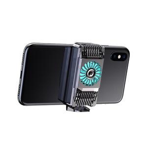 Image 4 - Stretchable נייד טלפון Cooler סמיקונדקטור רדיאטור קירור מאוורר Stand קירור למטה טמפרטורת מחזיק השתק עבור iPhone Huawei