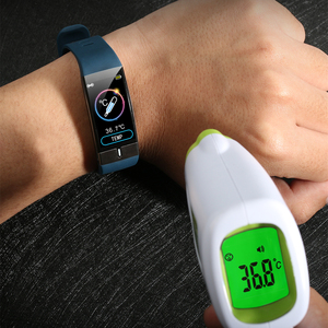 Image 2 - Body Temperature Monitor Smart Band ECG PPG Wristband Heart Rate Smart Watch Blood Pressure Measurement Sport Fitness Bracelet