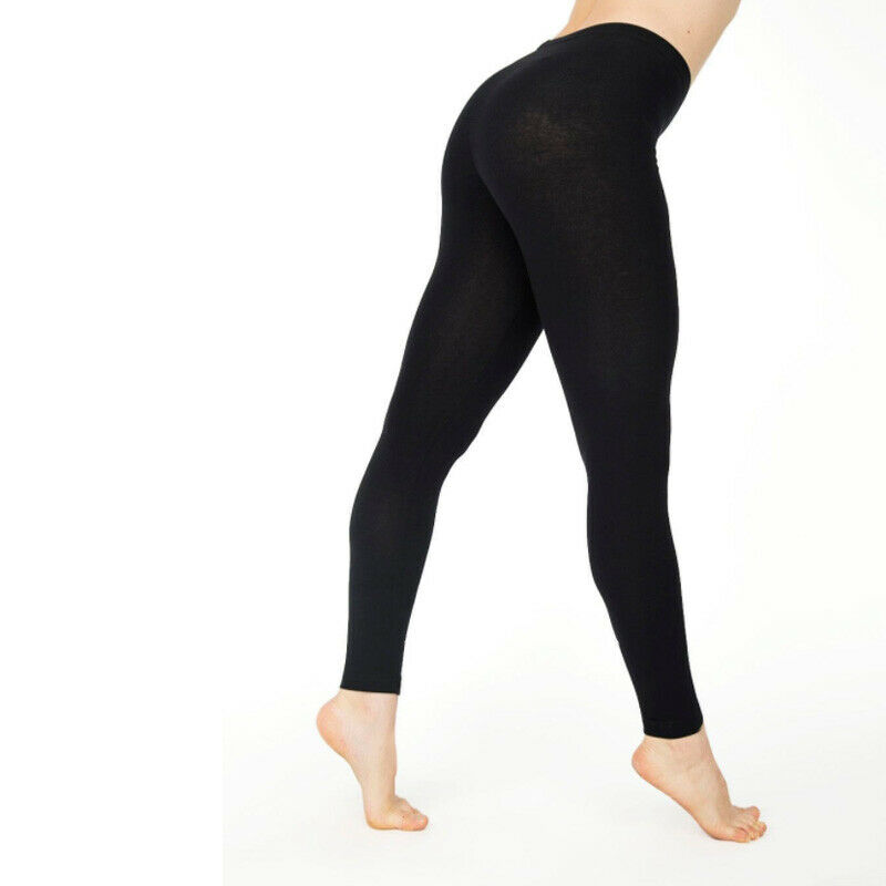 Women Cotton Leggings White Black Grey Solid Color Skinny Stretchy Pants Casual Sport Fitness Leggings
