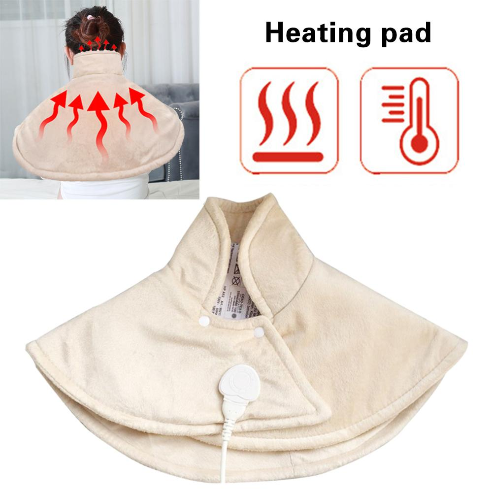 New Heating Pad For Neck & Shoulder Pain Relief Auto-Off For Neck Shoulders And Upper Back Warm Electric Blanket Pads Sale