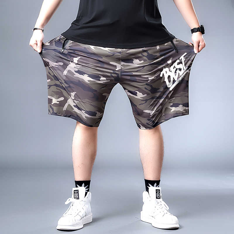 Plus 7XL 6XL New Cargo Shorts Men's Camouflage Summer Casual Men Short Pants Brand Clothing Multi-pocket Camo Men Cargo Shorts