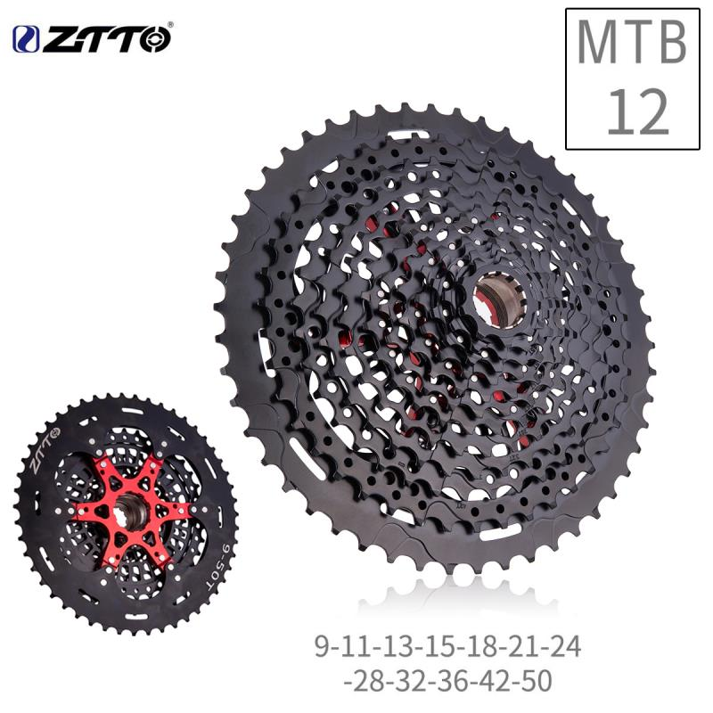 ZTTO 12Speed MTB 9-50T Cassette XD Cassette High strength Cassette Freewheel K7