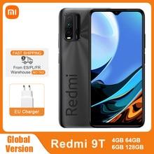 Versión Global Xiaomi Redmi note 9 T 9 T 4GB 64GB / 128GB Smartphone Snapdragon 662 48MP Quad Camera 6000mAh 6,53