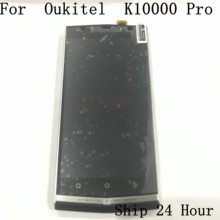 Oukitel K10000 Pro Used LCD Display Screen + Touch Screen + Frame+Mobile Phone Keys For Oukitel K10000 Pro 5.5Inch 1080*1920(China)