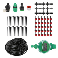 25M DIY Drip Irrigation Kit With Timer Garden Dripping Tools Set|Watering Kits|Home & Garden -
