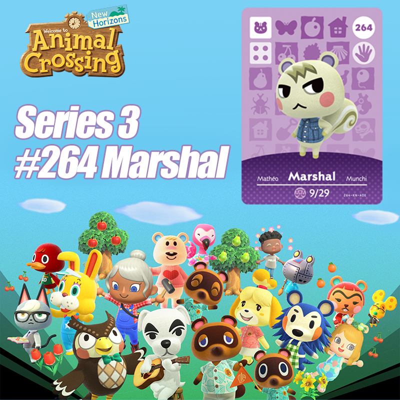 Animal Crossing New Horizons Game Card Amiibo Card For NS Switch 3DS Game Set NFC Cards Hot Villager Marshal Ankha Drop Shipping