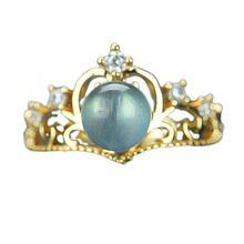 Женское этническое кольцо letsfun из серебра пробы черное Радужное