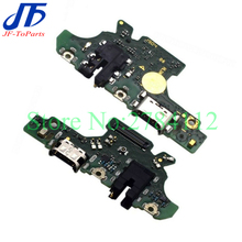 10 pçs para huawei nova 4e MAR AL00/p30 lite doca de carregamento usb tomada tomada porto conector placa carga cabo flex reparo