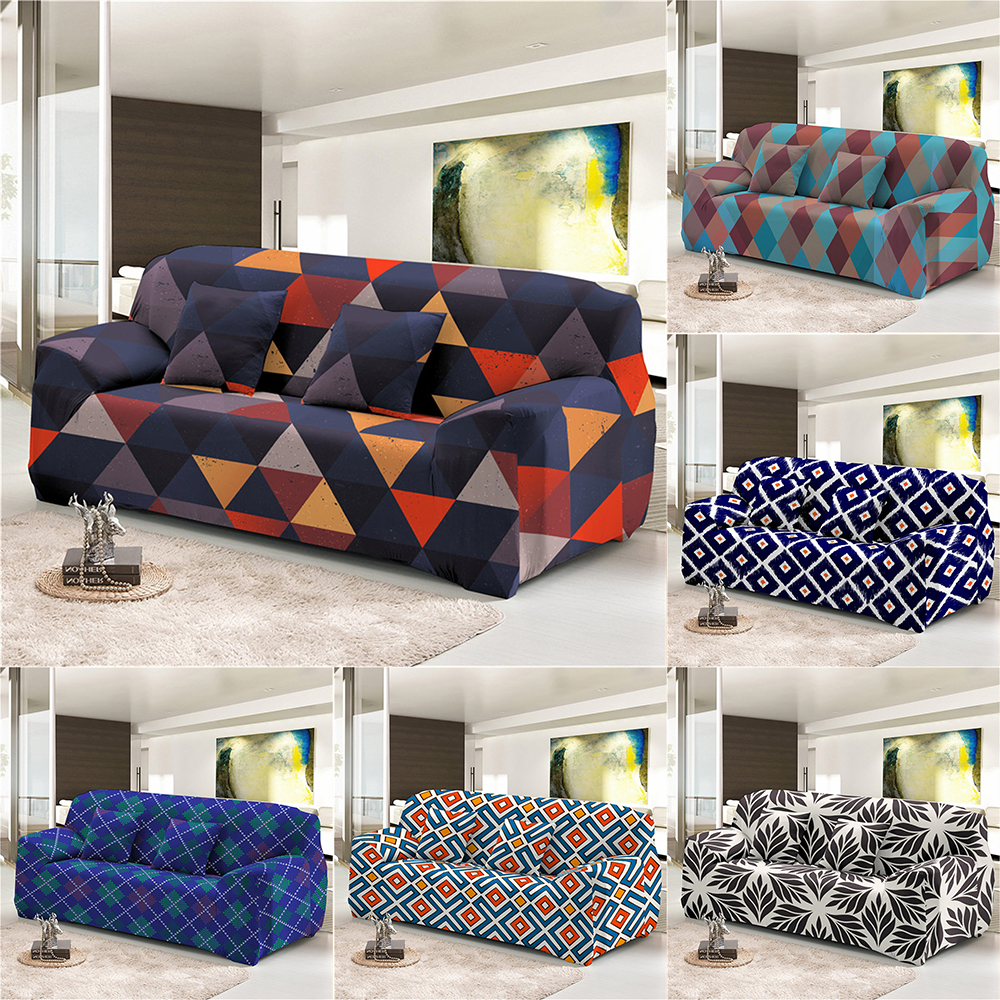 Homesky <font><b>Sofa</b></font> Cover for Living Room Geometric Elastic <font><b>Sofa</b></font> Case Sectional Couch Covers Stretch <font><b>Sofa</b></font> Cover 1/2/3/4 Seater image