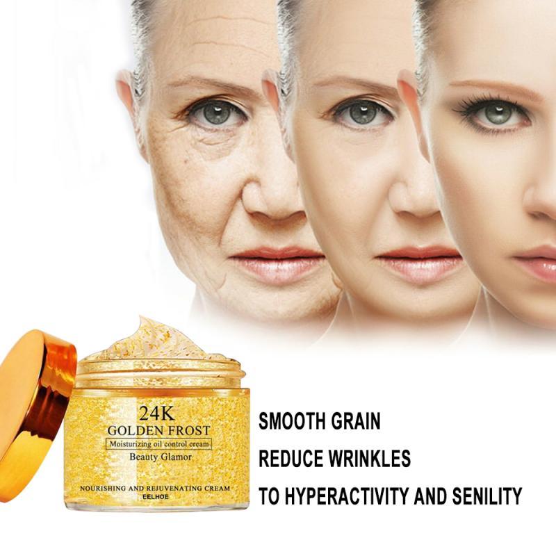 50 Вт, 30 Вт, 20g 24K Gold уход за кожей лица крем для глубокого увлажнения анти-старения анти-морщин укрепляющий Сыворотки белковый крем Уход за лиц...