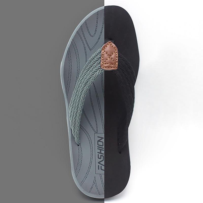 Men Flip Flops Summer Breathable Sandals Shoes For Men Non-slip Rubber Soles Slippers Fashion Outdoor Casual Shoes Big Size 47 1