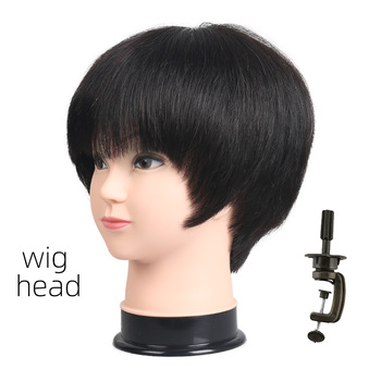 Wig Mannequin Head With Stand Holder Doll Plastic For Hat Female Sale