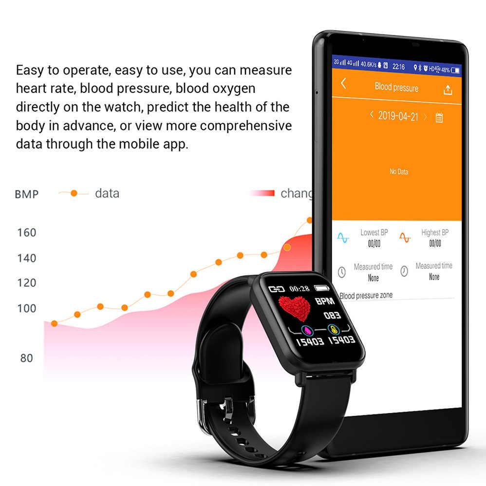 Colmi smartwatch ip68 à prova dip68 água freqüência cardíaca monitor de pressão arterial das mulheres dos homens fitness tracker para apple iphone xiaomi