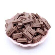 10 sztuk mleka czekolady dodatek Slime Charms dla szlamu dostaw wypełniacz DIY akcesoria polimerowe zabawki Lizun Model narzędzie dla zabawki dla dzieci E