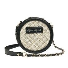 2019 Vintage Round Crossbody Letter Travel Designer Handbag Quality Premium Fashion Lady Deluxe Bag Purses and HandbagsPolyester