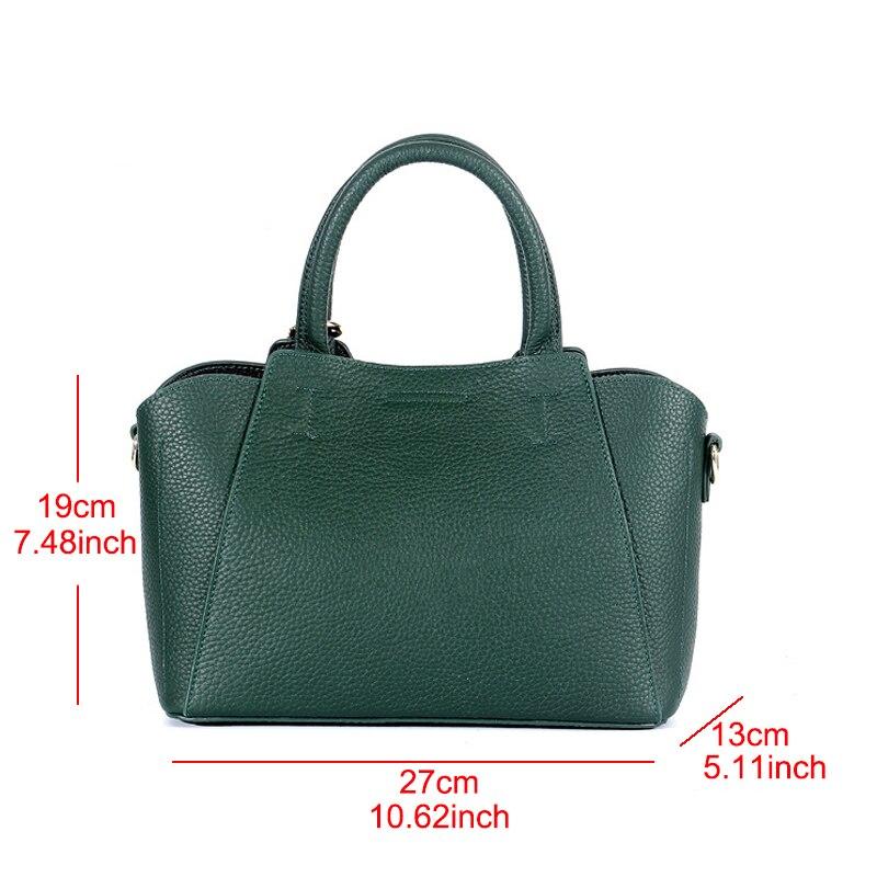 YUFANG femmes épaule messenger sacs dames en cuir véritable sac à main marque de haute qualité sac à bandoulière femme petit fourre-tout sac à main - 4