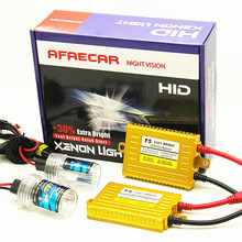 AFAECAR AC 12V h7 h11 9005 9006 h1 h3 car hid xenon light 6000k 4300k 8000k