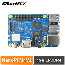 Wifi-Support Ubuntu Nanopi Rockchip Rk3399 DDR4 Dual-Band Deep-Learn M4V2 Android Soc