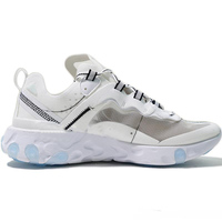 Men Shoes 2019 UNDERCOVER x Upcoming React Element 87 Running Shoes Zapatos Pack White Epic Sneakers Brand Men Trainer Plus Size