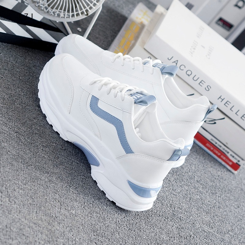 LZJ Women Sneakers 2019 Fashion Casual Shoes Woman Comfortable Breathable White Flats Female Platform Sneakers Chaussure Femme