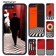 Maiyaca Twin Peaks Acara TV Dicetak Cell Phone Case untuk iPhone 11 Pro Max X XR X Max 6 6S 7 8 PLUS 5 5S TPU Cover(China)
