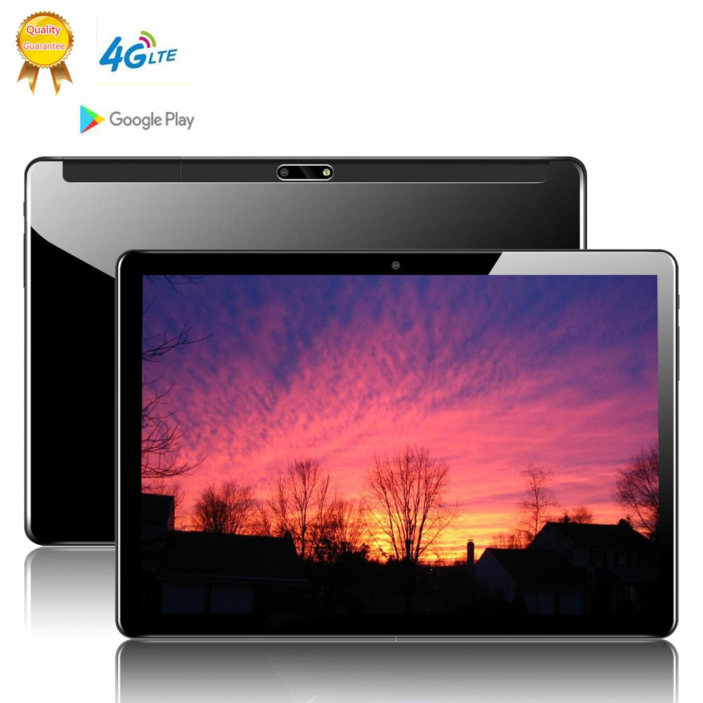 CARBAYTA Global Version 10.1 Inch 2.5D Tablet PC 10 Deca Core 8GB RAM 128GB ROM Android 9.0 WiFi 3G 4G LTE IPS HD Tablet Holder