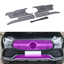 Net Car-Accessory Glc X253 Mercedes-Benz Inner-Cover-Mesh Front-Grille-Insert for Dust