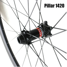 650B MTB Cross-country trail carbon wheels with Novatec hub and pillar 1420 spoke - WM-i22-7-N