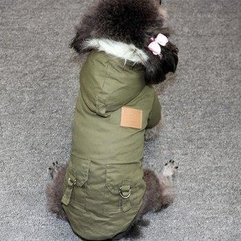 Winter Pet Dog Coat Clothes Warm Down Jacket Coat  4