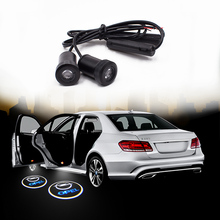 2Pcs 12V Led Car Door Lights Logo Lighting Welcome Light Laser Projector Ghost Shadow Lamp For Opel Logo Led light Auto free shipping compact 10w led sports logo light design image gobo projector custom pattern hall door wall welcome lights fixture