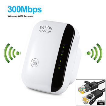 Wireless-N Wifi Repeater 802.11n/b/g Network Wi Fi Routers 300Mbps Range Expander Signal Booster Extender WIFI Ap Wps Encryption 1
