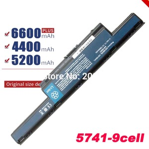New 9 cells Laptop Battery For Acer Aspire AS10D31 AS10D51 AS10D61 AS10D71 AS10D75 AS10D81 V3 5741 5560 v3-771g 5560GFree